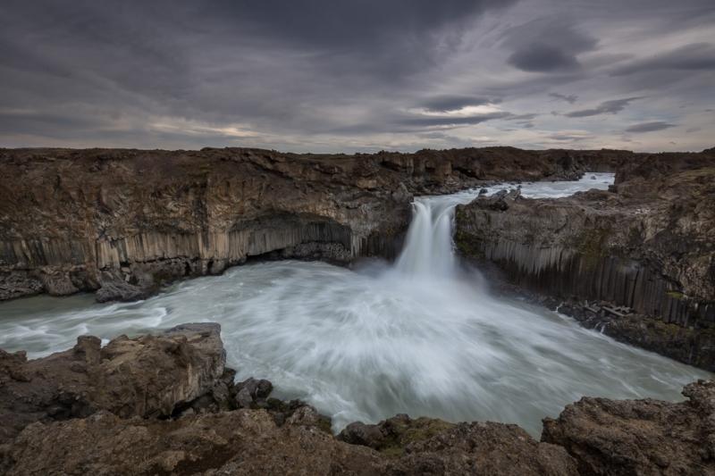 Aldeyjarfoss Wasserfall