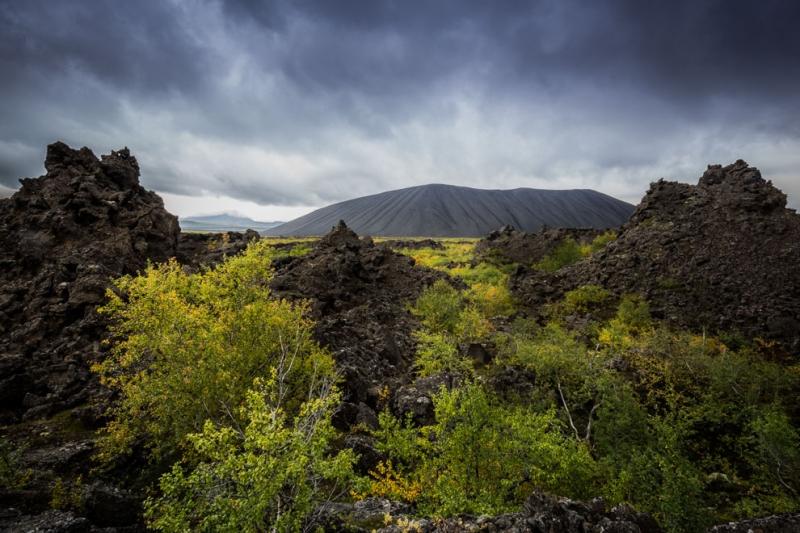 Vulkanlandschaft Dimmuborgir