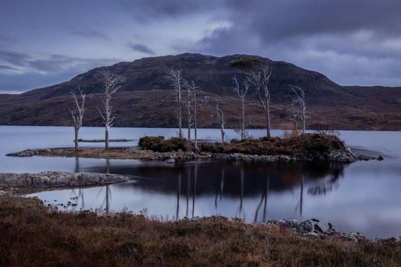 Mid Loch Assynt Layby